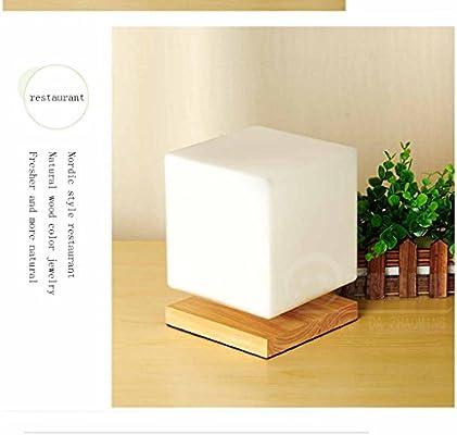 GQQ Luz Regulable Lámpara De Mesa,Control Remoto Conmutador Sombra ...