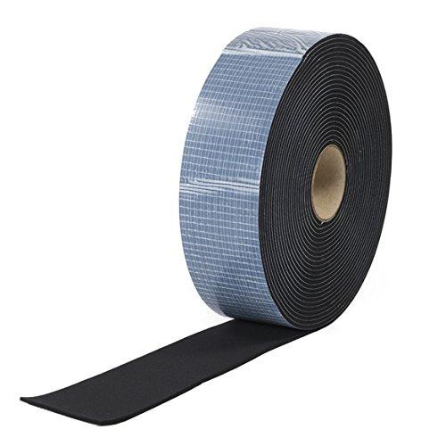 Neopren Zellkautschuk 60mmx3mm einseitig selbstklebend schwarz 10m Rolle Fugendichtband24