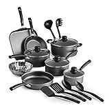 18 Piece Nonstick Pots & Pans Cookware Set Kitchen
