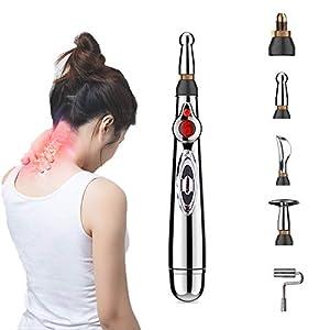 Acupuncture Stylo, Masseur Électronique Stylo Masseur corporel Meridian Energy Soulagement de la Douleur du Corps Guérir…