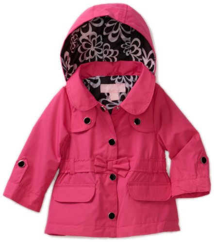 London Fog Baby Girls' Belted Trench Coat