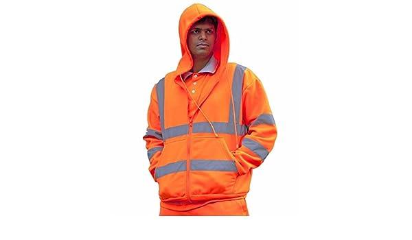 Sudadera con capucha talla XXL Pro-Tough CPHVHSO color naranja