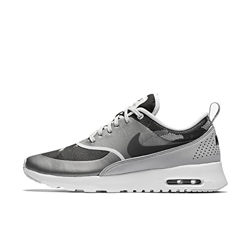 Nike Women's Wmns Air Max Thea JCRD, PURE PLATINUM/BLACK-WOLF GREY, 8 US by Nike
