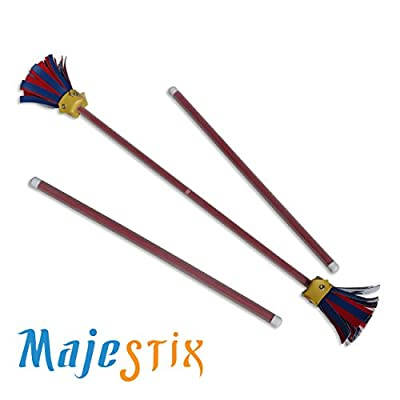 Red Majestix Juggling Sticks Devil Sticks: Toys & Games