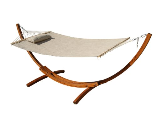 Leisure Season HSWH202 Hammock Stand with Hammock