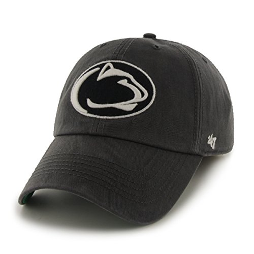'47 NCAA Penn State Nittany Lions Franchise Fitted Hat, Charcoal, Large