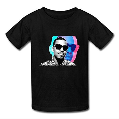 Nesth J Cole Men's Short Sleeve Tee shirt Customized (USA Size) M Black