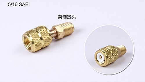 MONNY 3pcs/set Air conditioning fluorine Refrigeration Air conditioning Valve Safety Adapter R410a