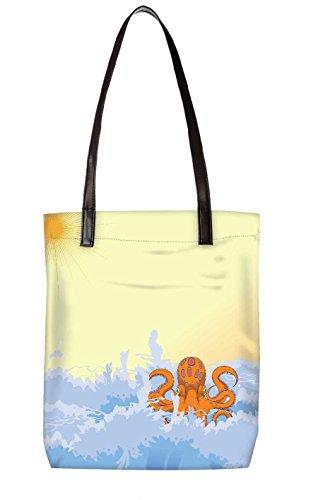 Snoogg Strandtasche, mehrfarbig (mehrfarbig) - LTR-BL-5317-ToteBag