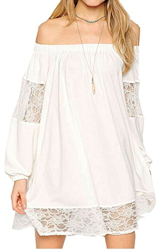 Buy bell sleeve lace mini dress - 2