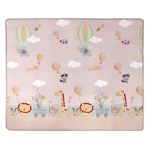Baby Care Play Mat,Floor Creeping Mat Baby Gym Nontoxic Waterproof Moisture Proof Baby Play Mats for Kids Baby Toddler,78.7 x 70.8 x 0.4