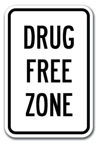 Top 10 best drug free zone sign: Which is the best one in 2019?
