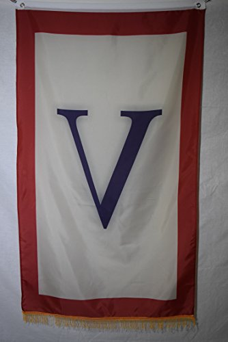 (V for Victory Support of the War World War II WWII Effort Flag 3x5)