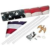 Premium American Flagpole Kits (Pack of 10)