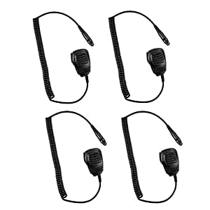 4 ps Lightweight Speaker Mic Light Duty for Motorola EX600 EX560 EX560XLS EX500