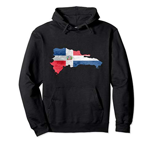 Dominican Republic Country Dominicana Gift Flag Hoodie
