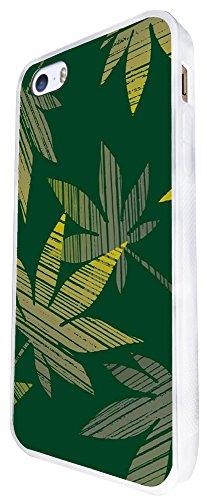 1488 - Cool Fun Trendy Weed Rasta Smoking Marijuana Jamaican Design iphone SE - 2016 Coque Fashion Trend Case Coque Protection Cover plastique et métal - Blanc