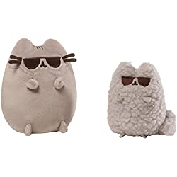 GUND Pusheen y Set de Cifras meteorológicas Adversas, Anteojos Oscuros, Multi Color