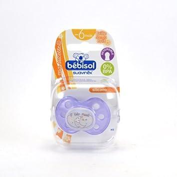 attraktiv und langlebig heißer verkauf billig super günstig im vergleich zu Bébisol-Sucette Reversible Bébisol Silicone Violette, 0 A 6 ...