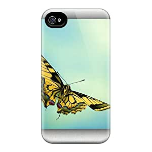 ErleneRobinson Iphone 6 Protective Cell-phone Hard Cover Allow Personal Design Vivid Butterfly Pictures [JRw5464FpkZ]