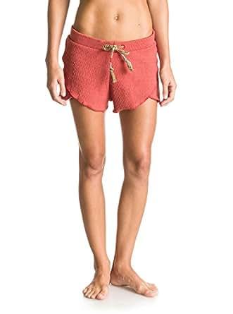 Roxy ERJFB03027 Womens Body Rocks Shorts, Redwood, XL