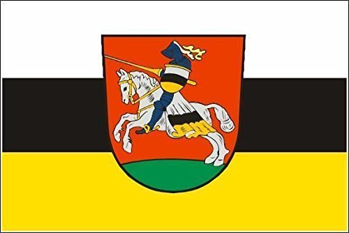 U24 Fahne Flagge Ritterhude Bootsflagge Premiumqualit/ät 30 x 45 cm