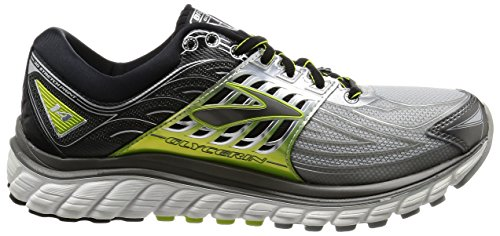 Brooks Mens Glycerin 14 Silver/Black/Lime EP6xSI