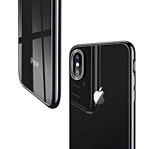 ESR iPhone Xs/iPhone X Case Slim Clear Soft Flexible TPU Cover Compatible for 5.8 inch (2017 & 2018 Release)(Black)