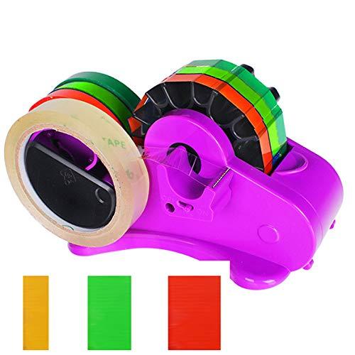 (Multi Tape Dispenser Automatic Cutter 4-in-1, Fast Cutter for 1.4