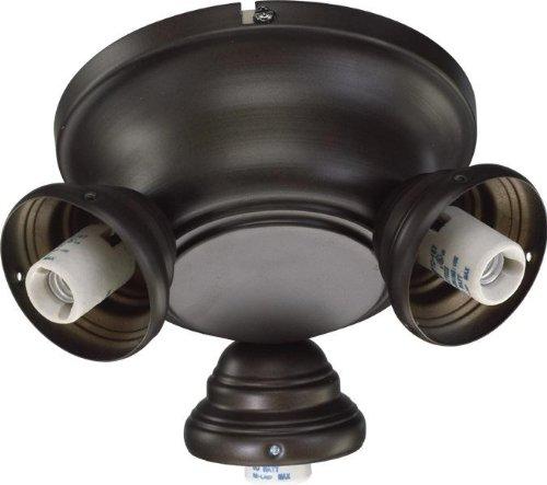 Quorum 2383-9086, 3-Light Salon Fitter, Oiled Bronze