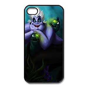 iphone4 4s case , Disney Villains Series - Ursula Cell phone case Black for iphone4 4s - LLKK0760099