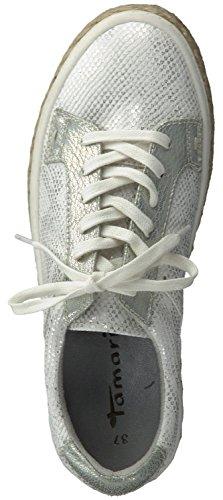 con cordones Mujer Tamaris WHITE STRUCT zapatos 570cwqE