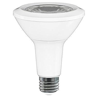 PAR30 LED Light Bulb, LuminWiz 13W 2700K 800lm Warm White Dimmable Flood Light Bulbs, 75W Equivalent