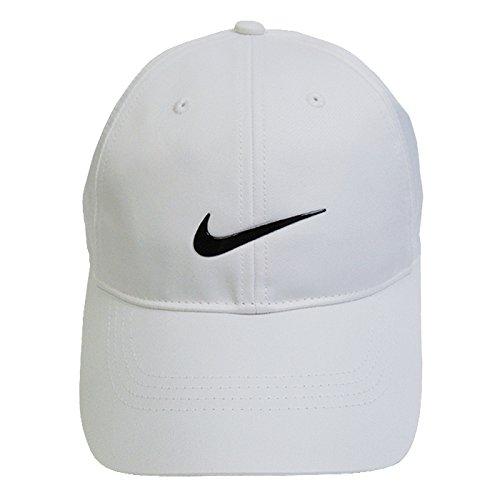 Nike(ナイキ)GOLF DRI-FIT CAP スウォッシュロゴ キャップ(ホワイト)