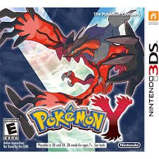 Pokemon Y (Nintendo 3DS) - Rated E