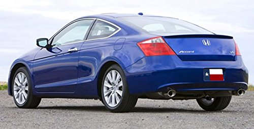 Honda Accord 2DR Coupe 2008-2012 Rear Lip Style Trunk Spoiler Color Match Painted