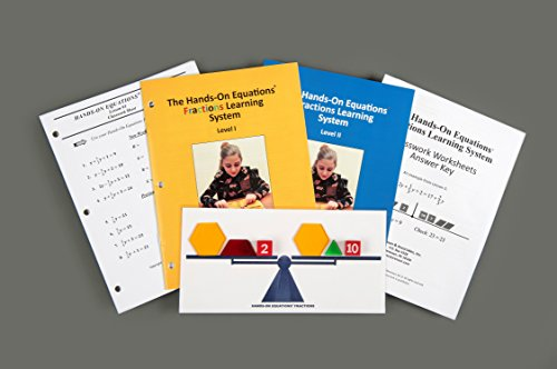 Learning Equation - HANDS-ON EQUATIONS Fractions Learning System