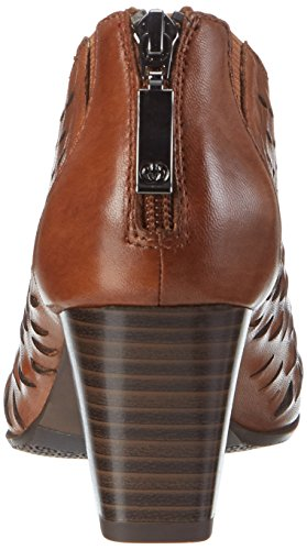 Lotta Brown WoMen Bootees 10 Cognac WEBER GERRY x5wX7Avv