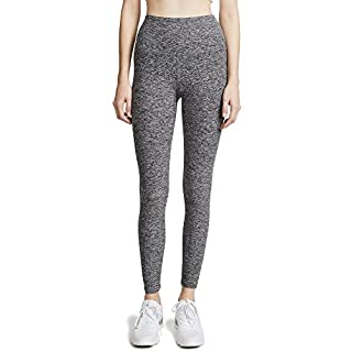 Beyond Yoga Spacedye High-Waist Midi Leggings Black/White LG (US 10-12)
