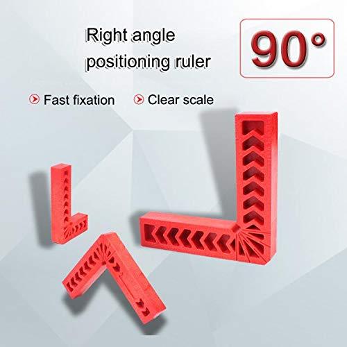 cajas (3 4 6 ) abrazaderas de esquina para marcos de cuadros Cuadrados de posicionamiento cuadrado de sujeci/ón de 90 grados para carpinter/ía armarios o cajones