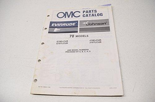alog 70 Models QTY 1 (Omc Parts Catalog)