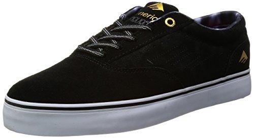 EMERICA Shoe THE PROVOST black/grey/white schwarz 7