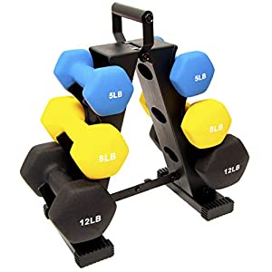 Well-Being-Matters 41t-UvF3cuL._SS300_ BalanceFrom GoFit All-Purpose Dumbbells in Pair, or Set with Rack