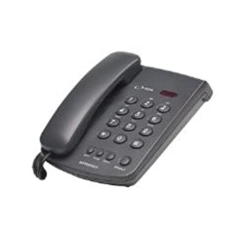 Interquartz IQ10 9310 Basic Phone with RJ11 Cord - Black