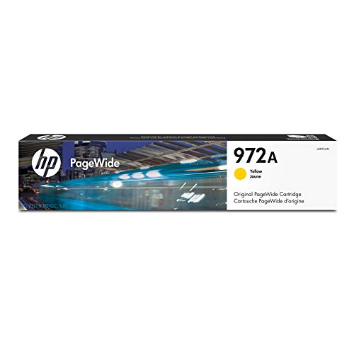 HP 972A Yellow PageWide Cartridge (L0R92AN) for HP PageWide Pro 452dn 452dw 477dn 477dw 552dw 577dw 577z