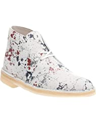Clarks Men's Paint Splatter Desert Boots, Multi, 7 D(M) US