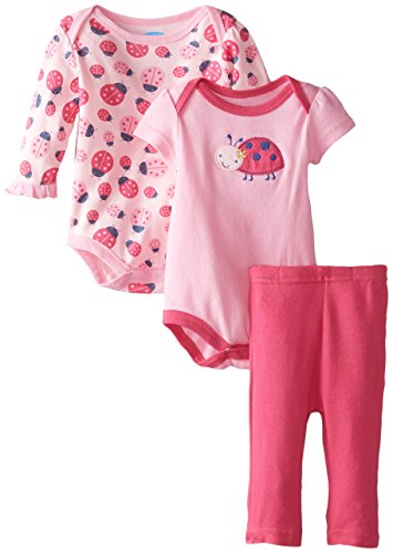 bon-bebe-baby-girls-newborn-ladybug-double-bodysuit-set-with-leggings-multi-6-9-months