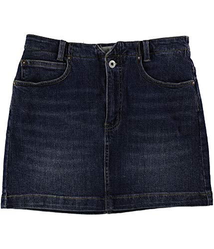 Free People Womens She's All That Denim Mini Skirt