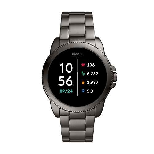 Fossil-Connected-Smartwatch-Gen-5E-para-Hombre-con-tecnologia-Wear-OS-de-Google-frecuencia-cardiaca-GPS-NFC-y-notificaciones-smartwatch