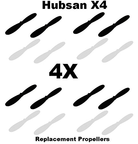 (Hubsan X4 Propellers Blades 4X QuadCopter Replacement Props Blades NEW FAST Model:)